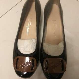 Ferragamo lady shoes 女鞋