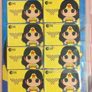 Brand new limited Edition DC Comics yellow Wonder Woman ezlink Card For $19.