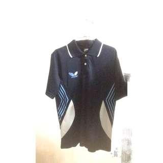 桌球品牌Butterfly(短)排汗衫