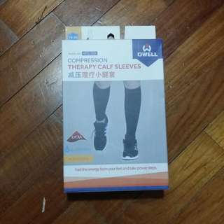 Owell Compression Therapy Calf Sleeves