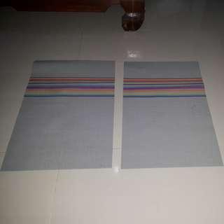 Table mat / alas makan (2 tatakan)