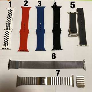 Apple Watch straps for all series, 42mm only