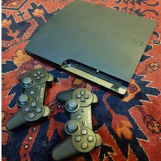 SONY PS3 with 2 controller