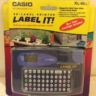 Casio Label 打印機