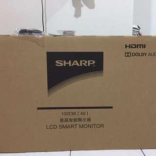 (全新未拆!)夏普液晶智能聯網40吋電視