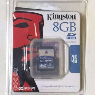 8GB SD SDHC Class 4