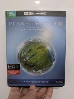 3 disc BBC Planet Earth 2 - 4k uhd