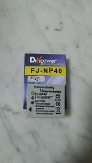 Battery for FUJI DIGITAL CAMERA USE