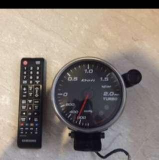 BIG defi tutbo gauge ( discontinued)