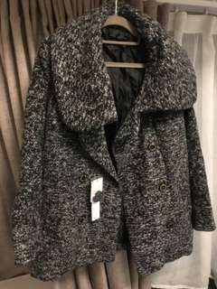 全新日本品牌Heather女裝灰色外套