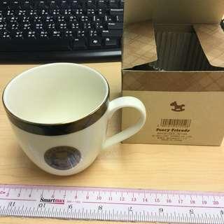 絕版 1991 sanrio Mr Bear Dream 陶瓷杯 日本製造 made in japan