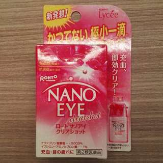 Rohto Nano Eye Clearshot Eyedrops (Lycée and Z!) 6ml BNIB