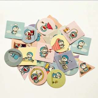 Doraemon Craft Stickers
