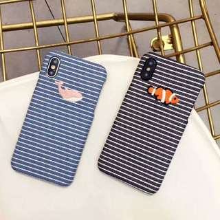 Whale/Nemo PHone Case For iPhone 6/7/8/X