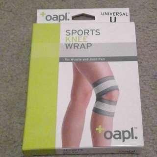 Sports knee wrap