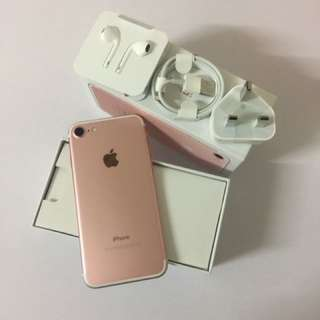 Iphone7 128G rose gold
