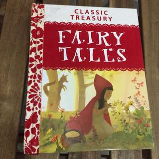 Fairy Tales book, Classic Treasury