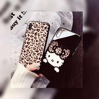 豹紋Hello Kitty手機殻