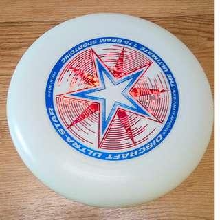 Discraft Ultra-Star Night Glow Ultimate Frisbee