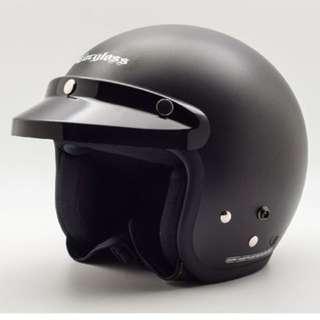 Helm cargloos hitam dpff