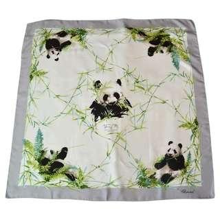 Chopard Panda Silk Scarf
