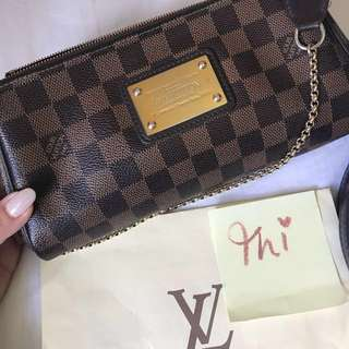 Authentic Louis Vuitton Eva Clutch DE