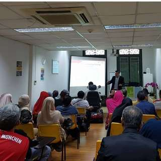 #Blessing Seminar Gold Dinar at Joo Chiat