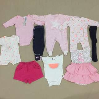 Guess cotton On next uk combo Newborn