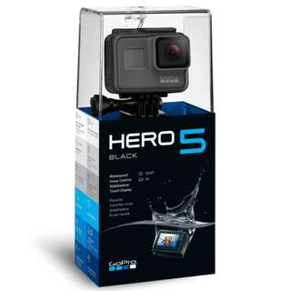 GoPro Hero 5 black with 1 year local and international warranty