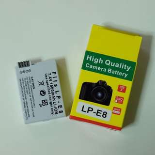 LP-E8 Battery for Canon Camera(3rd party )
