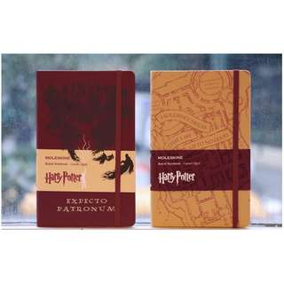Harry Potter Moleskine Notebooks