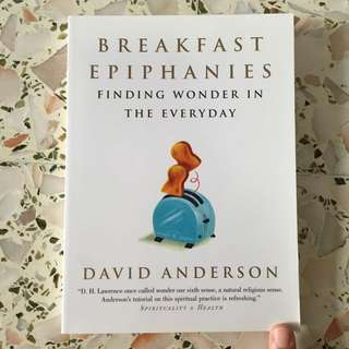 Breakfast Epiphanies: Finding Wonder In The Everyday by David Anderson Paperback