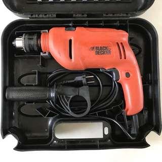 Black & Decker 710W Hammer Drill with box