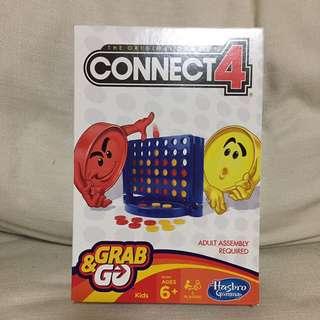 SALE 40% Off - BN sealed Hasbro Connect 4 Grab n go set