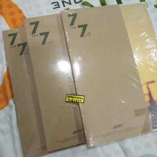 GOT7 7 FOR 7 Taiwan Press Include Lyric Book Group Version