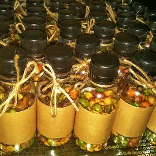 🌸 Doorgift berkat Mix Nuts in Bottle 🌸