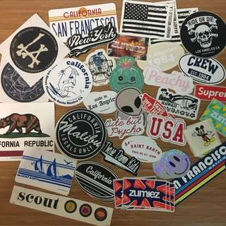 Brandy Melville Stickers + Others