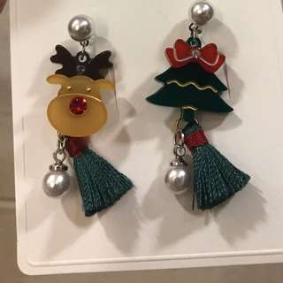 UK christmas market DIY earrings $120 耳環 聖誕