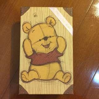 迪士尼 小熊維尼收納盒丶禮物盒