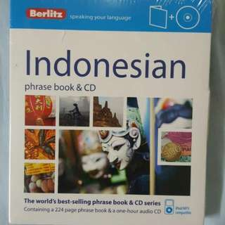 Indonesian phrase book & CD
