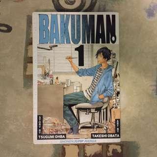 Bakuman Manga Vol 1