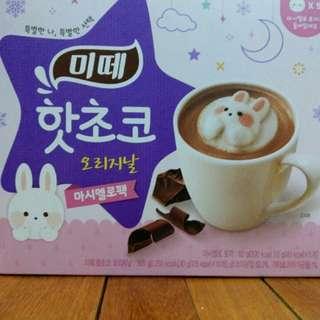 韓國飄浮兔兔可可粉/巧克力