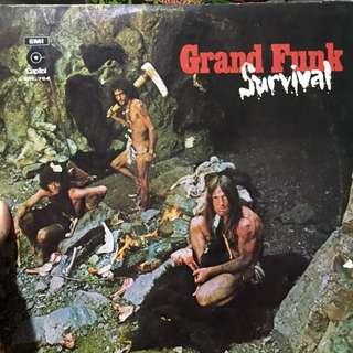 Grand funk vinyl revord