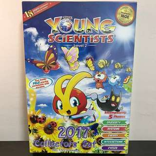2017 The Young Scientists Collectors' Set ~ Level 2