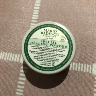 Mario Badescu special healing powder problem skin treatment