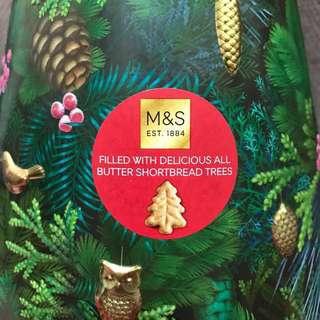 Marks & Spencer 🎄曲奇音樂盒🛂🎼