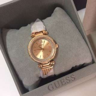 Guess watch rose gold 手錶 玫瑰金