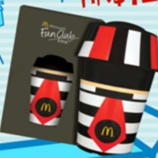 McDonald's Fun Club 麥當勞麥樂會 漢堡神偷 杯