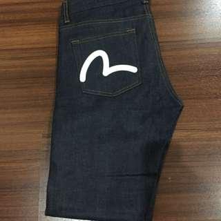 evisu jeans size 30 slim 1x pake