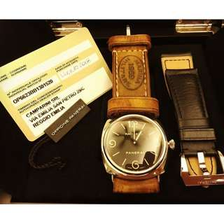 Panerai Radiomir PAM210 Complete Set with box